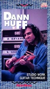 DANN HUFF STUDIO WORK GUITAR TECHNIQUE